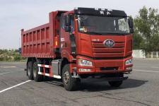 解放牌CA3250P66K25L2T1E5型平头柴油自卸汽车图片