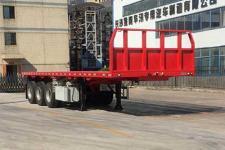中集8.5米33.7吨3轴平板半挂车(ZJV9402TPSZ)