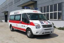 国六江铃监护型救护车