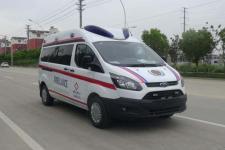 國六福特新全順v362救護車廠家報價