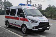 国六江铃特顺CL5046XJH6YS型救护车