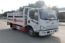 國六解放J6F藍牌4.1米/4.15米氣瓶運輸車