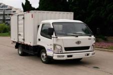 一汽红塔国五单桥厢式运输车80-139马力5吨以下(CA5040XXYK3LE5)