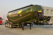 梁山宇翔10米31.8吨3轴中密度粉粒物料运输半挂车(YXM9400GFL)
