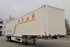 梁山宇翔12.5米26噸2軸翼開啟廂式半掛車(YXM9350XYKE)