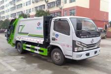 国六东风6方压缩式垃圾车