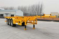 梁山宇翔12.4米34吨3轴集装箱运输半挂车(YXM9400TJZ40)