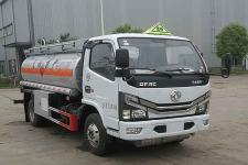 國六東風多利卡5噸加油車多少錢-