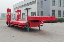 梁山宇翔10.5米27.2噸2軸低平板半掛車(YXM9350TDP)