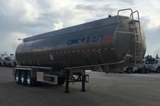 中集11.3米33.5吨3轴铝合金食用油运输半挂车(ZJV9402GSYJM)