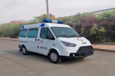 国六江铃特顺短轴救护车