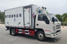 國六江鈴藍牌醫療廢物轉運車
