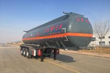 力生牌HLS9404GFW型腐蚀性物品罐式运输半挂车