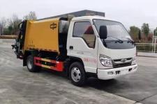 程力威牌CLW5043ZYS6CD型壓縮式垃圾車