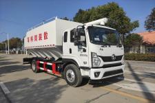 力海通牌HLH5160ZSLSX6型散裝飼料運輸車