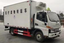 国六江淮骏铃4米医疗废物转运车|江淮4.2米医疗废物转运收集车
