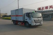 国六福田欧马可4米1易燃气体厢式运输车