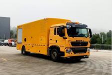 国六重汽豪沃应急供电车/应急排水抢险救险车