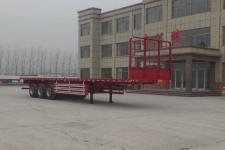 坤博12米33.7吨平板式运输半挂车