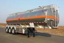 永强12.1米33吨3轴铝合金易燃液体罐式运输半挂车(YQ9400GRYCT2)