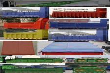 陜汽牌SX3120GP5型自卸汽車圖片