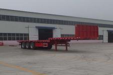 金奉源12米33.7吨3轴平板运输半挂车(JFY9400TPBE)