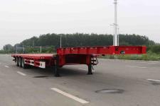 开乐12.4米32.8吨3轴低平板半挂车(AKL9409TDPK)