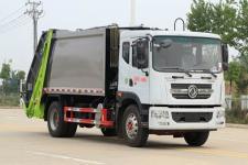 國六東風D9壓縮式垃圾車容積14方