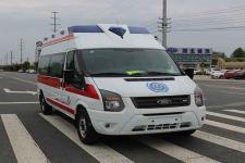 國六福特V348長軸高頂鉆石頂救護車
