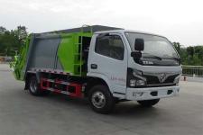 國六東風福瑞卡壓縮式垃圾車