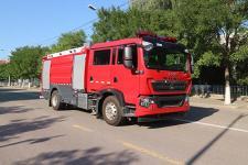 泡沫消防车(ZXF5190GXFPM80/HT6泡沫消防车)图片