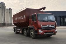 国六福田时代领航小三轴15吨30方散装饲料运输车