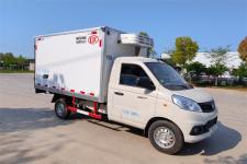 国六小型冷藏车|蓝牌冷藏保温药品运输车