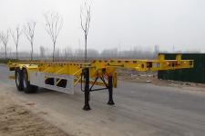 梁昇牌SHS9350TJZE40型集装箱运输半挂车