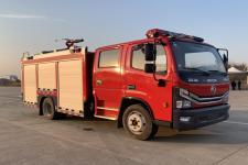 国六东风3.5吨水罐消防车|多利卡消防车参数|消防车招标