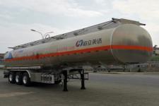 欧曼牌HFV9406GYYB型铝合金运油半挂车