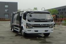 程力威牌CLW5120ZYS6LY型压缩式垃圾车