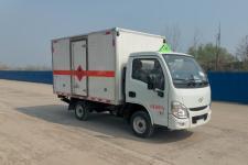 国六跃进2米4/2米8/3米2易燃气体厢式运输车