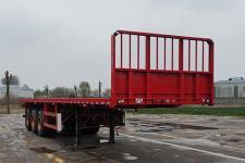 鲁玺牌LXP9401TPB型平板运输半挂车
