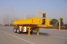 中集7.7米28.5吨自卸半挂车图片