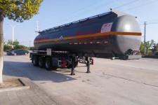 楚飛10米30噸3軸腐蝕性物品罐式運輸半掛車(CLQ9400GFWB)
