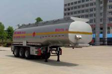 楚飛10.5米30.8噸3軸易燃液體罐式運輸半掛車(CLQ9400GRYB)