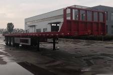 通勤12米33.5吨平板半挂车