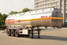 楚飞11.7米32.5吨铝合金运油半挂车