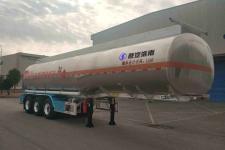 陕汽牌SHN9400GRYP406型铝合金易燃液体罐式运输半挂车图片