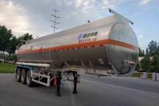陕汽牌SHN9400GRYP375型铝合金易燃液体罐式运输半挂车图片
