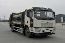 國六解放12方壓縮式垃圾車價格