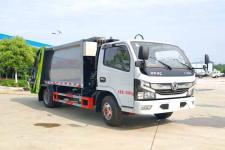 國六東風福瑞卡6方壓縮式垃圾車