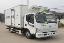 国六解放4.1米医疗废物转运车
