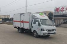 东风途逸2米6/3米1/3米4易燃气体厢式运输车